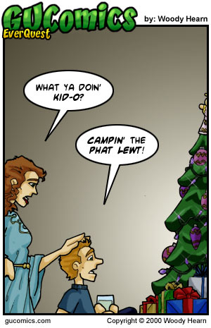 Comic for: December 25th, 2000 - Explanation not Available.