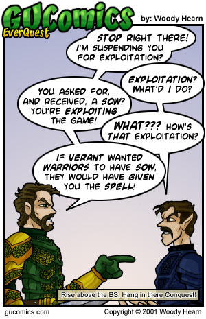 Comic for: June 7th, 2001 - Explanation not Available.