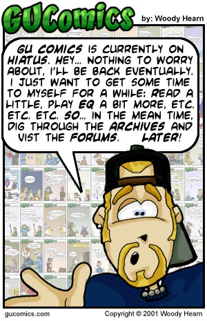 Comic for: July 13th, 2001 - Explanation not Available.