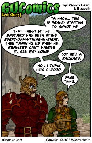 Comic for: March 10th, 2003 - Explanation not Available.