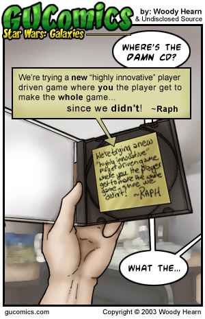 Comic for: June 27th, 2003 - Explanation not Available.