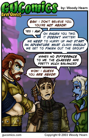 Comic for: October 17th, 2003 - Explanation not Available.