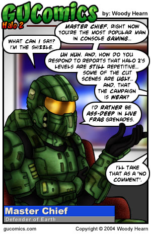 Comic for: November 9th, 2004 - Explanation not Available.