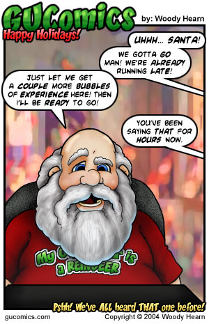 Comic for: December 24th, 2004 - Explanation not Available.