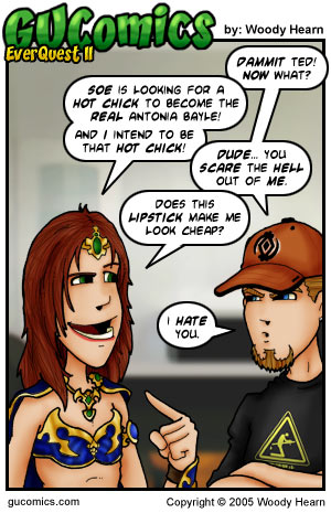 Comic for: May 4th, 2005 - Explanation not Available.