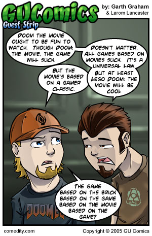 Comic for: October 7th, 2005 - Explanation not Available.