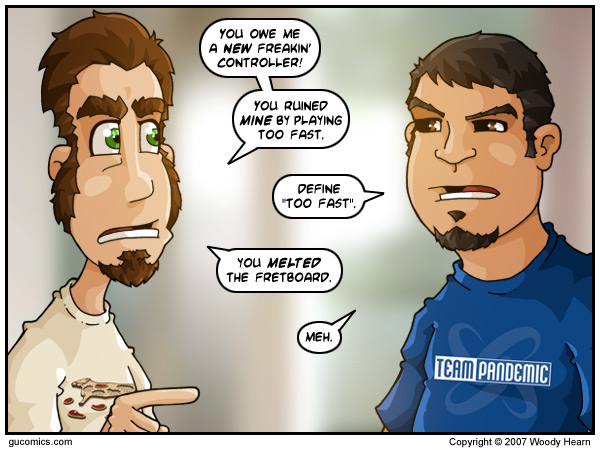 Comic for: November 10th, 2007 - Click Here for more Info!