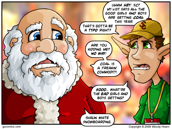 Comic for: December 22nd, 2008 - Explanation not Available.