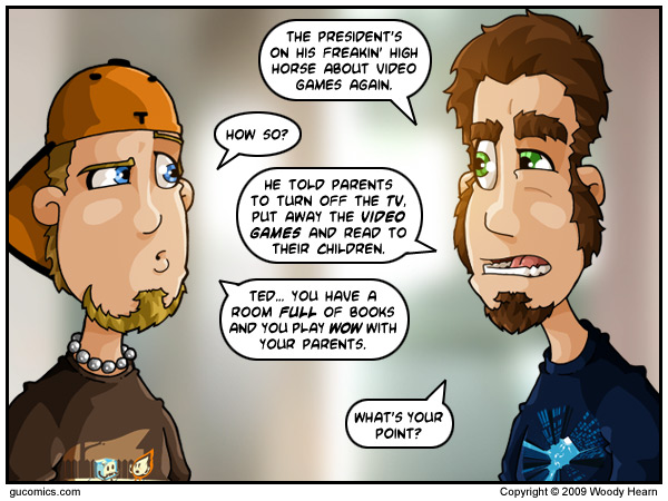 Comic for: February 26th, 2009 - Explanation not Available.