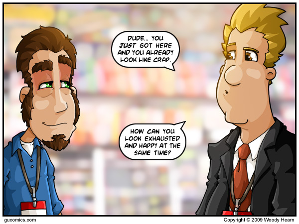 Comic for: July 21st, 2009 - Explanation not Available.