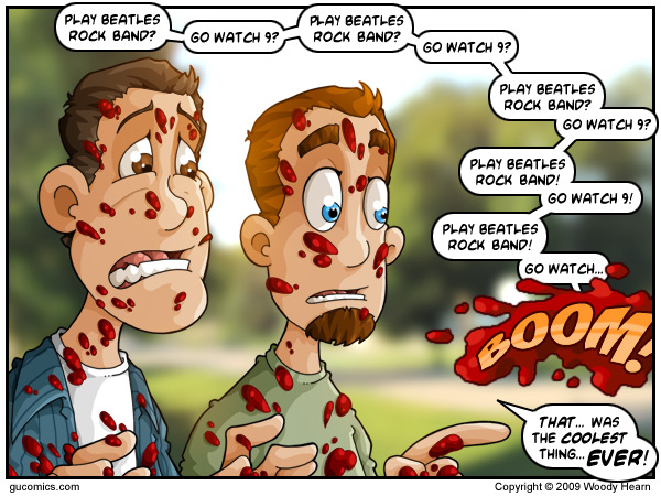 Comic for: September 9th, 2009 - Explanation not Available.