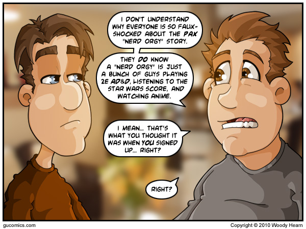 Comic for: August 27th, 2010 - Explanation not Available.