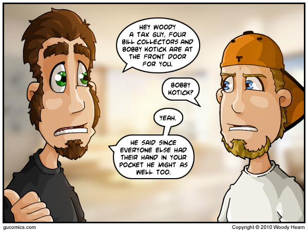 Comic for: November 10th, 2010 - Explanation not Available.