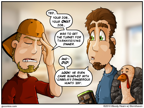 Comic for: November 22nd, 2010 - Explanation not Available.