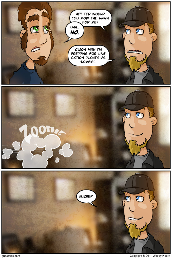 Comic for: July 25th, 2011 - Explanation not Available.