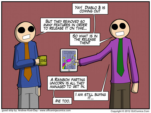 Comic for: April 9th, 2012 - Explanation not Available.
