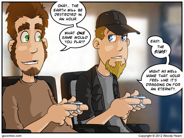 Comic for: June 22nd, 2012 - Explanation not Available.
