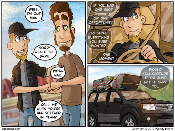 Comic for: August 30th, 2013