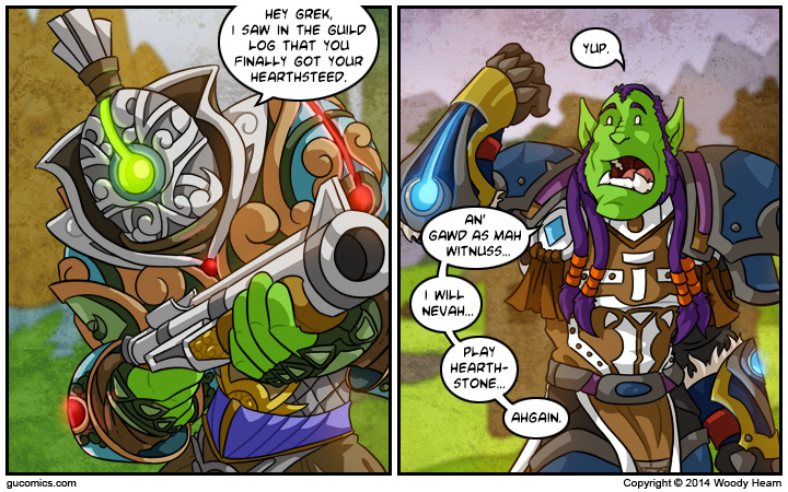 Comic for: March 31st, 2014 - Click Here for more Info!
