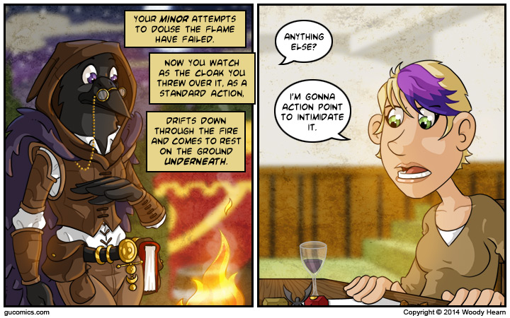 Comic for: August 11th, 2014 - Click Here for more Info!