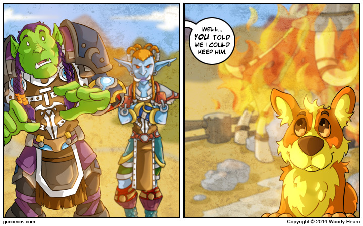 Comic for: August 22nd, 2014